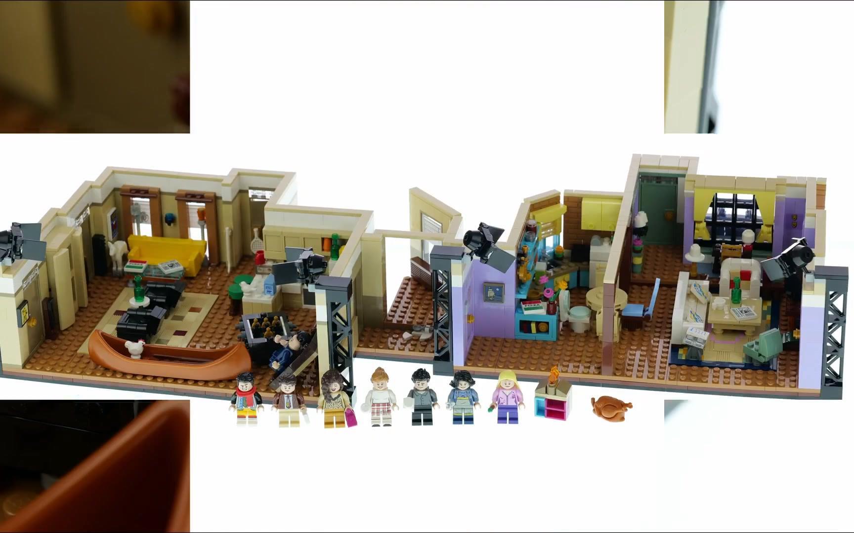 乐高 LEGO 10292 创意高手系列 老友记公寓