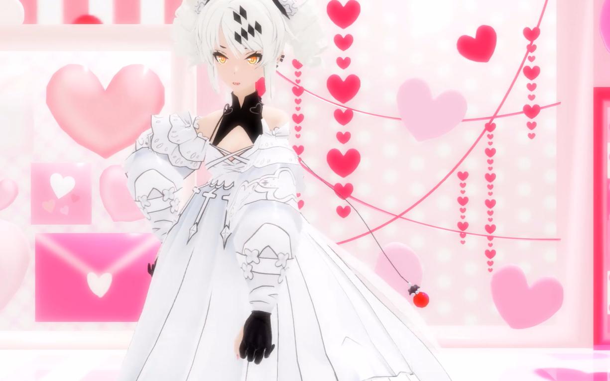 【战双MMD·卡列尼娜·白色恋人】喜欢与指挥官在一起的每个瞬间!