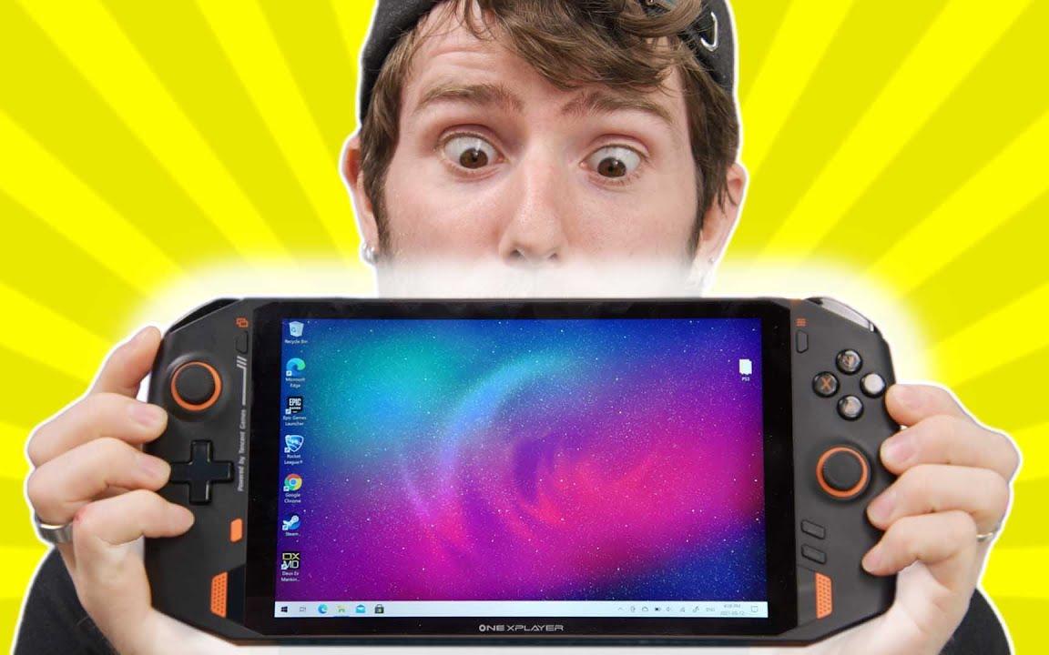 【官方双语】还在等Switch Pro?看看这台掌机如何 - 壹号掌机One XPlayer#lin