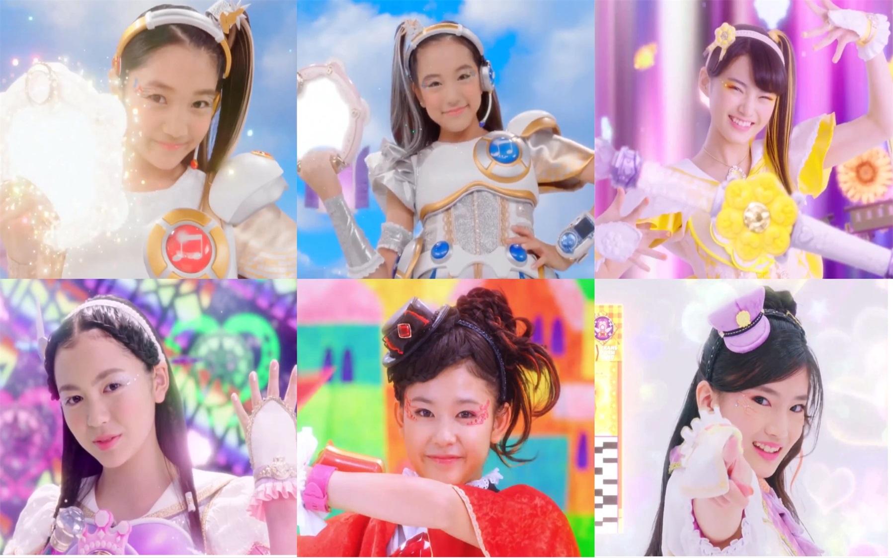 女孩战士系列*单色系&彩虹色系战士变身合集