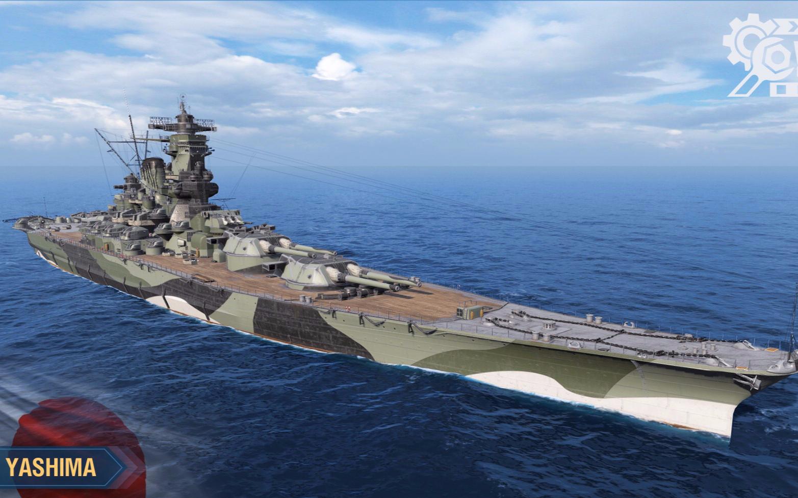 【战舰世界欧战天空】第1400期 战列舰合集(25)战斗到最后的敷岛