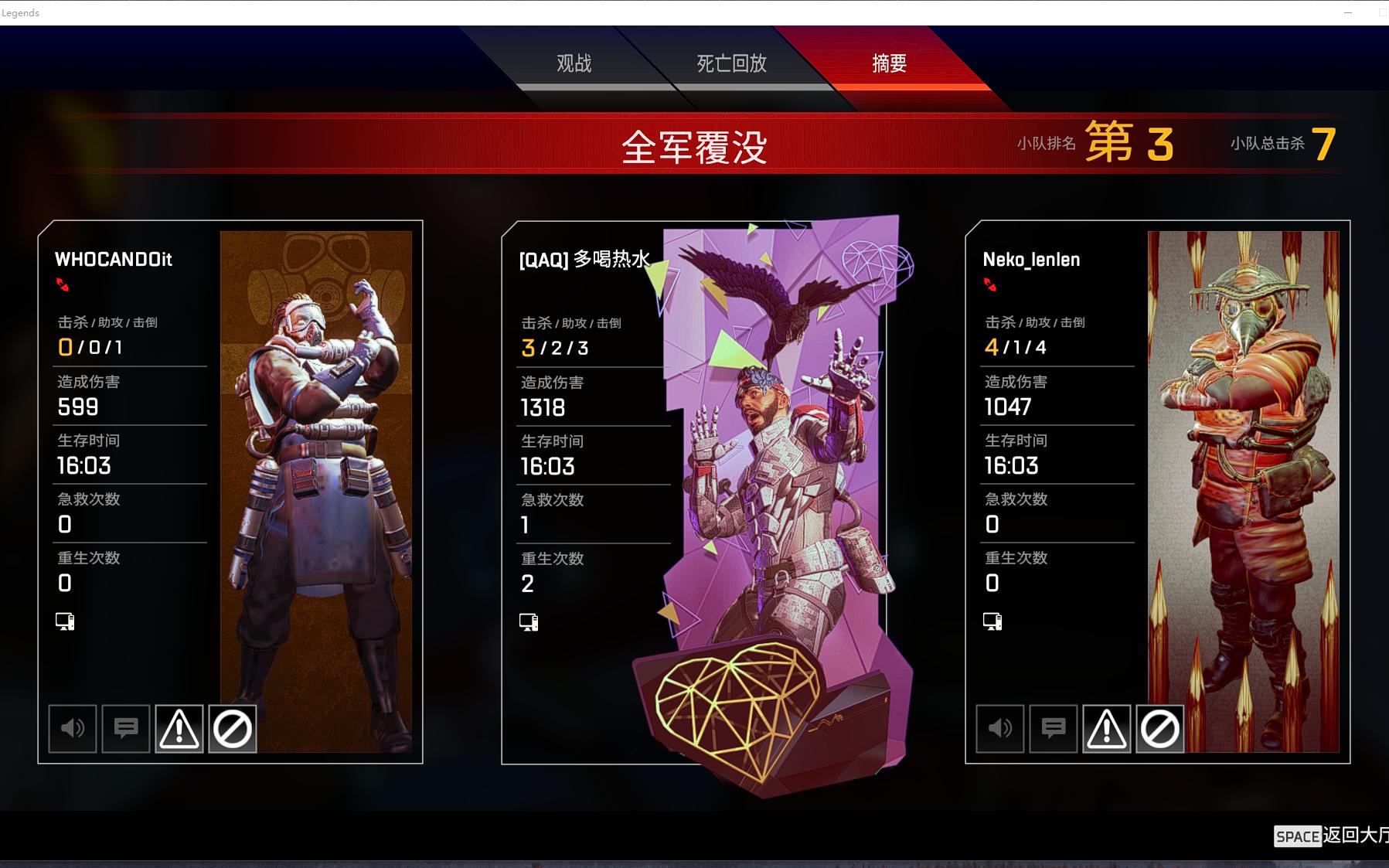 【apex】目前最高输出5月28