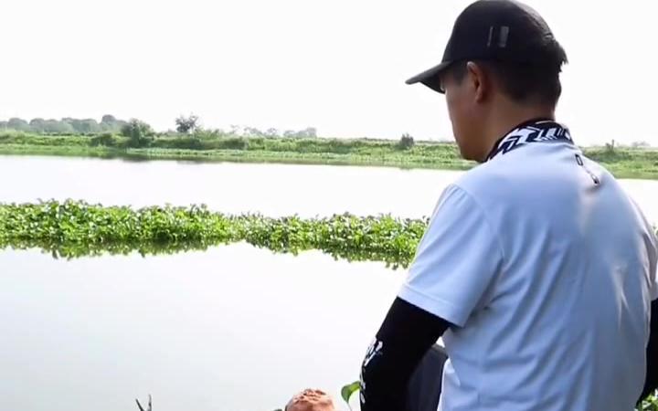 探钓涨渡湖小河沟