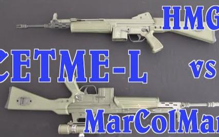 【被遗忘的武器/双语】两款半自动版赛特迈L型步枪 - Hill & Mac 和 MarColMar