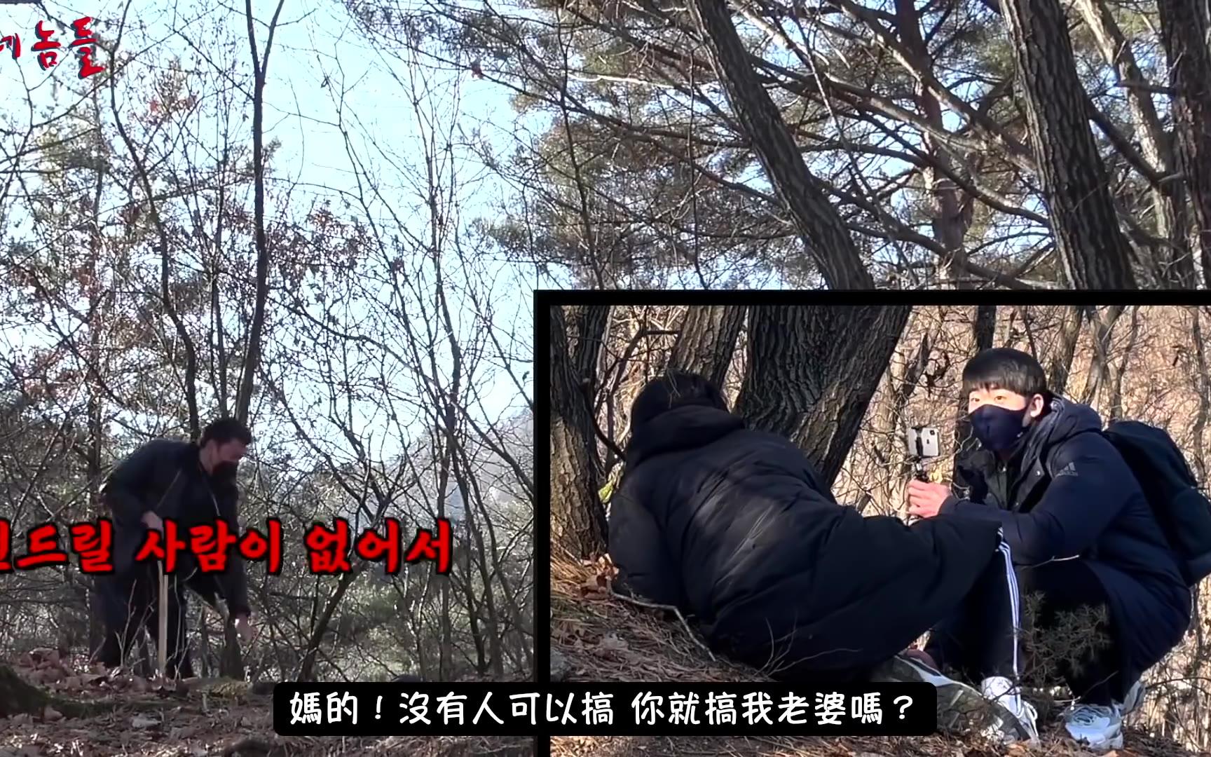 【搞笑隐藏摄影机】把无知路人骗进小树林撞见黑帮在办事,要被吓死了
