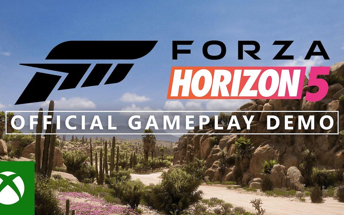 《极限竞速:地平线5》官方游戏演示