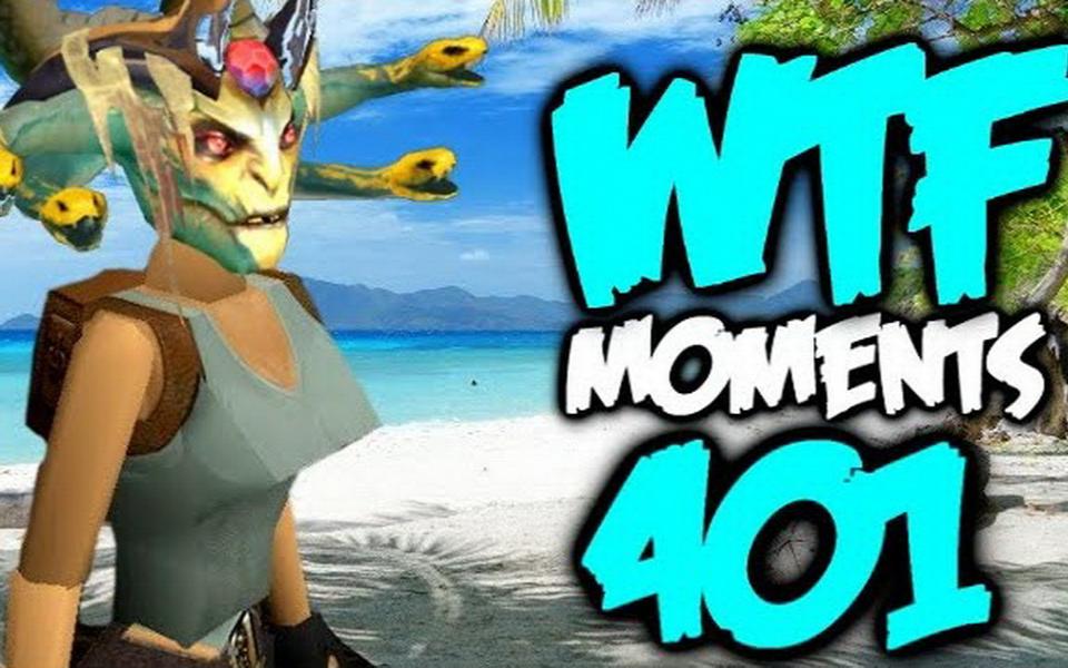 Dota 2 WTF Moments 401