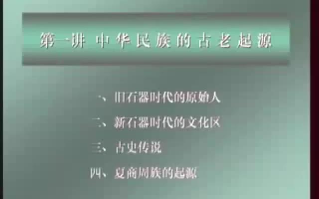 【公开课】北京大学:中国古代史(全171讲)