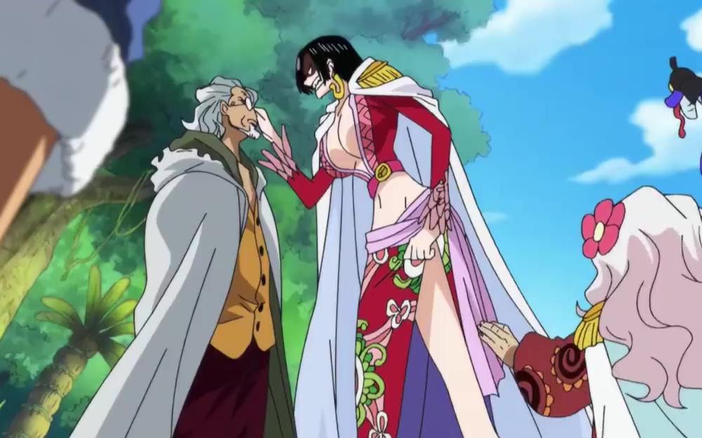 【海贼王】女帝为了路飞竟然怒怼雷利:我要把你变成石头!然而路飞还是拒绝了女帝的示爱!