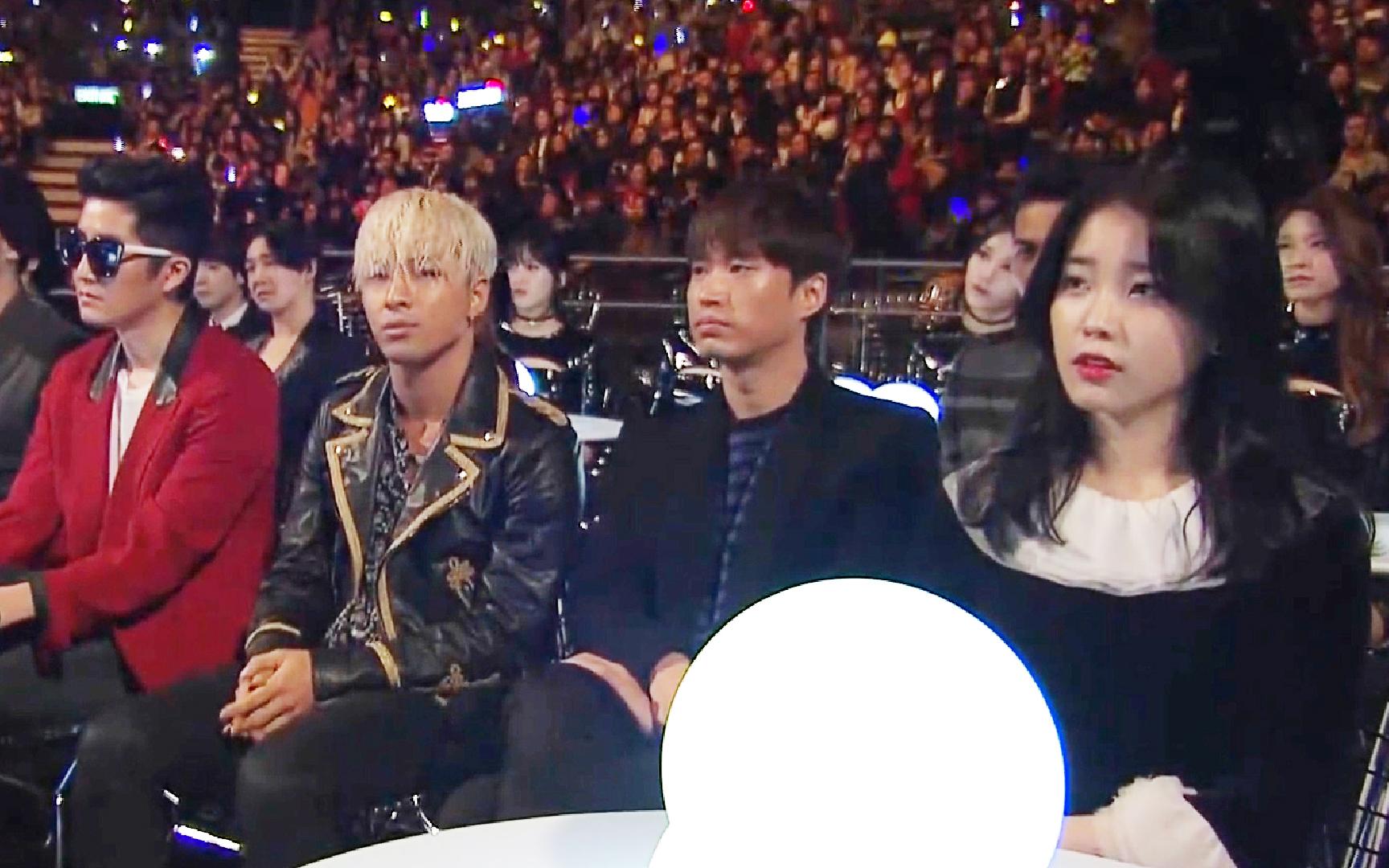 台下全是韩国明星,中国歌手一上场:不好意思我是来砸场子的
