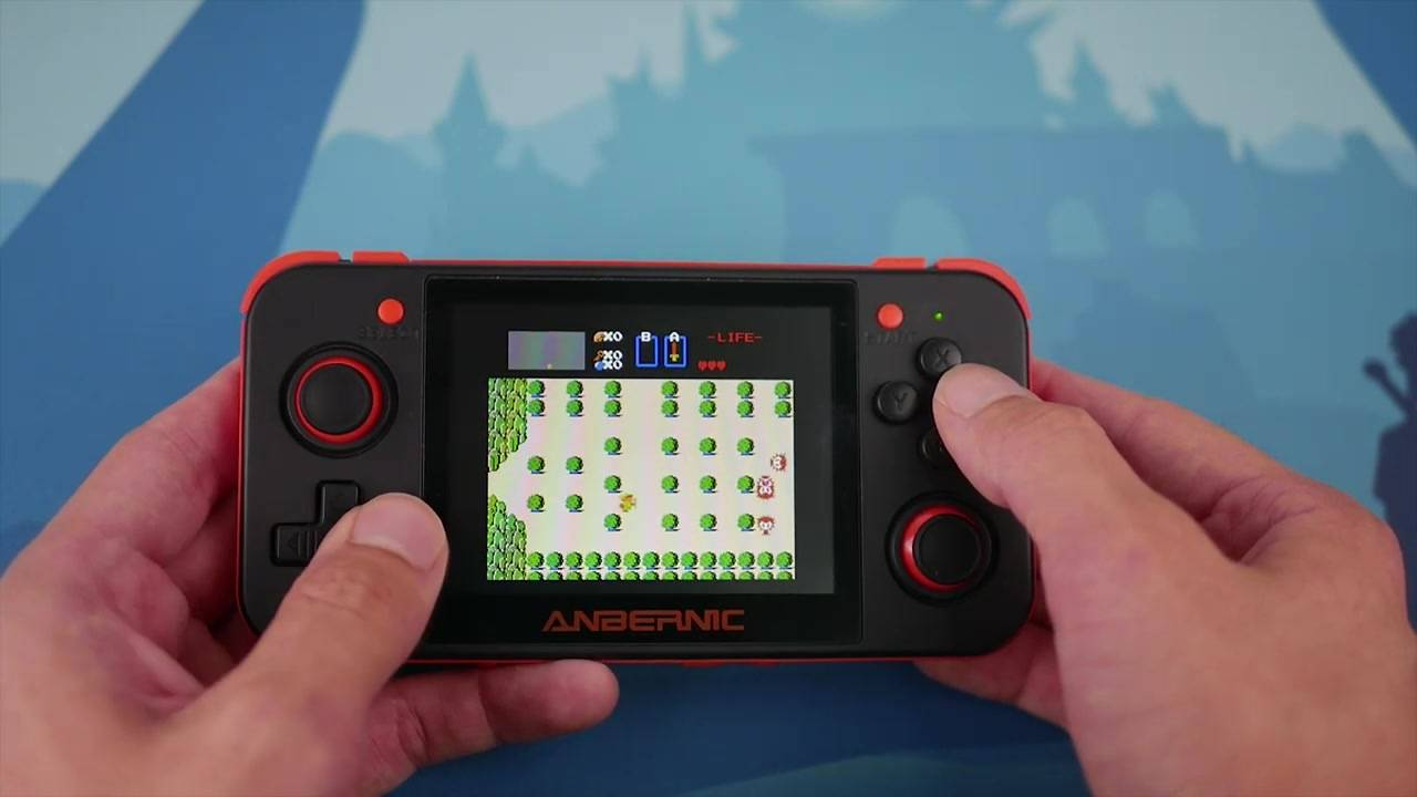 【油管搬运】The Retro Game 350开源游戏掌机评测