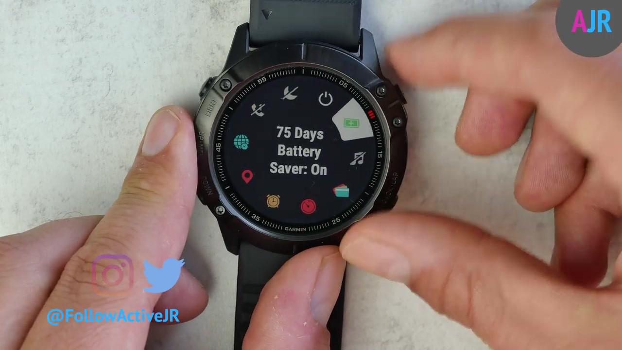 【油管搬运】佳明Fenix 6x Pro智能手表开箱评测