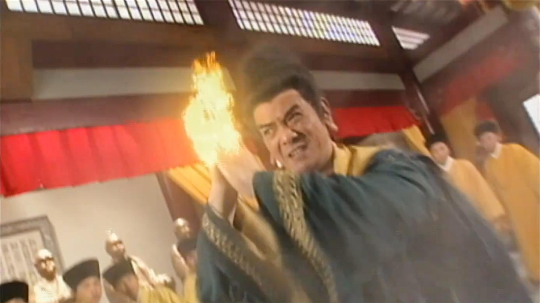 天龙八部: 虚竹单挑鸠摩智, 鸠摩智火焰刀不是对手, 败给虚竹