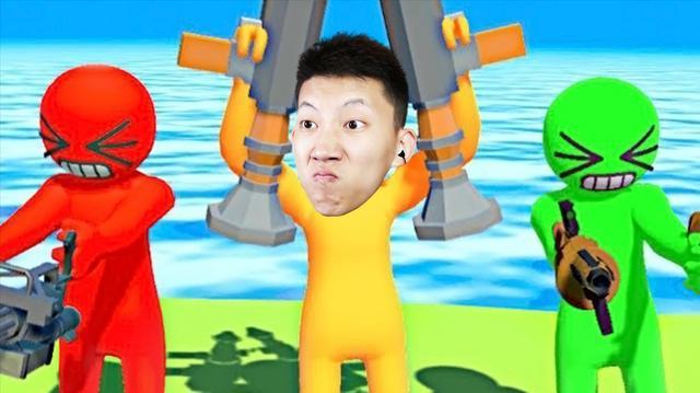 牛油果大乱斗! 这个游戏可以变成超大的巨人! 鲤鱼Ace解说