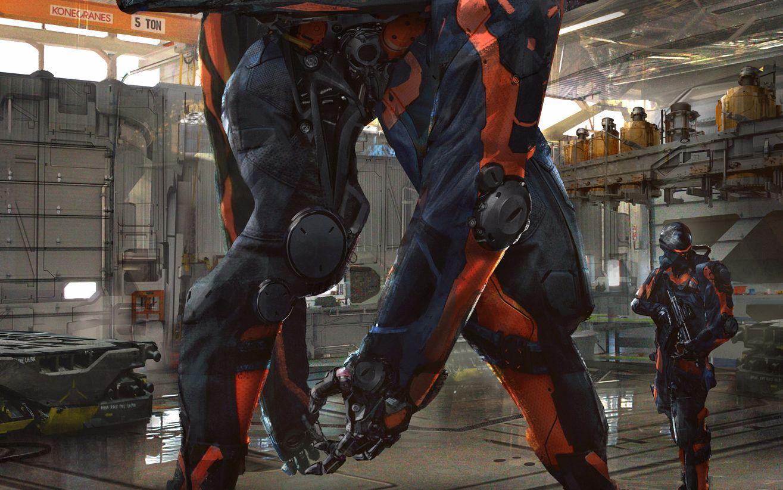 坠好看的游戏CG和宣传视频: 机甲