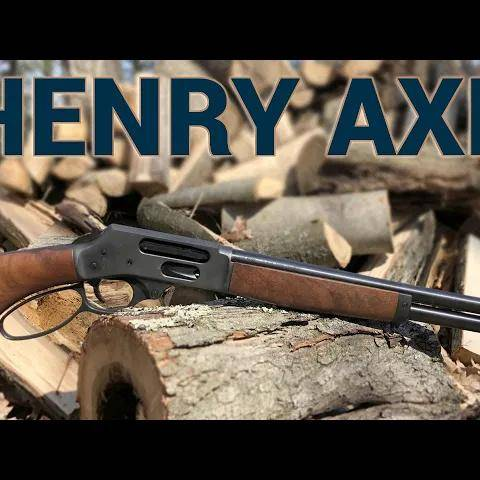 a new lever-action in the arsenal: henry axe