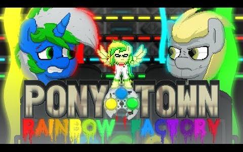 【MLP同人动画】(中字)Pony Town-彩虹工厂 #3