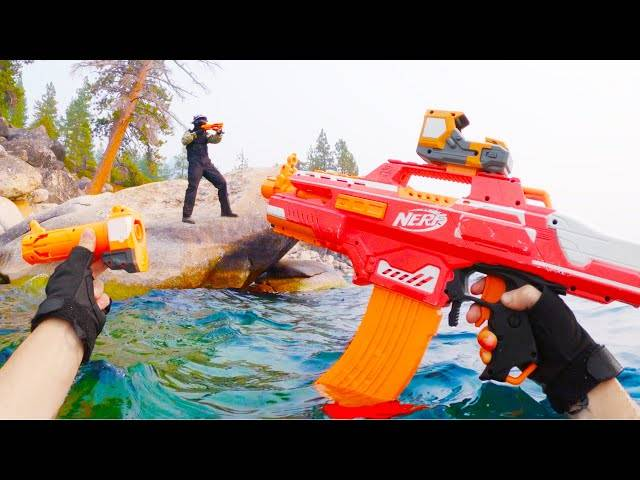 nerf war: navy seal