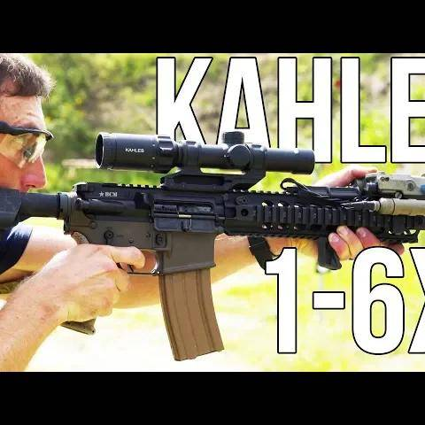 kahles 1-6x k16i (the best lower power variable optic?