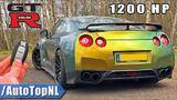 1200hp nissan gtr sw performance review on autobahn (no speed limit) by autotopnl