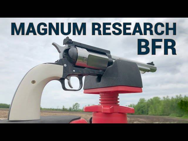 meet the magnum research bfr,chambered in a rifle caliber?