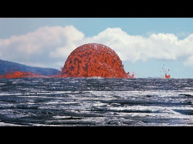 为什么海底火山一旦爆发,海水无法将它浇灭?看完真是大开眼界!