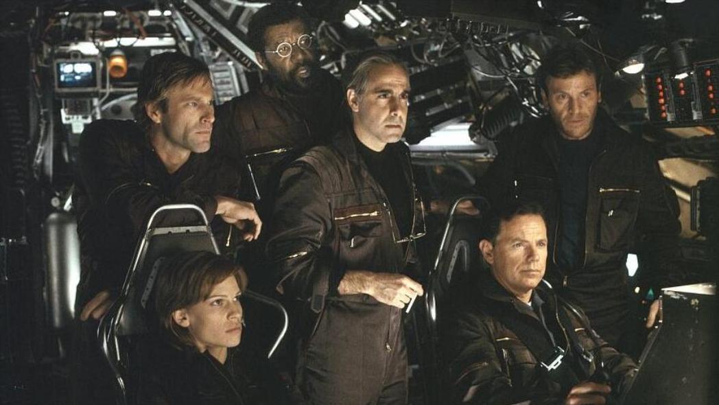 影视: 世界末日来临, 6名科学家带着核弹潜入地心, 拯救全人类