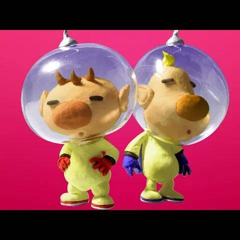 pikmin 3 deluxe - olimar and louie s new prologue gameplay