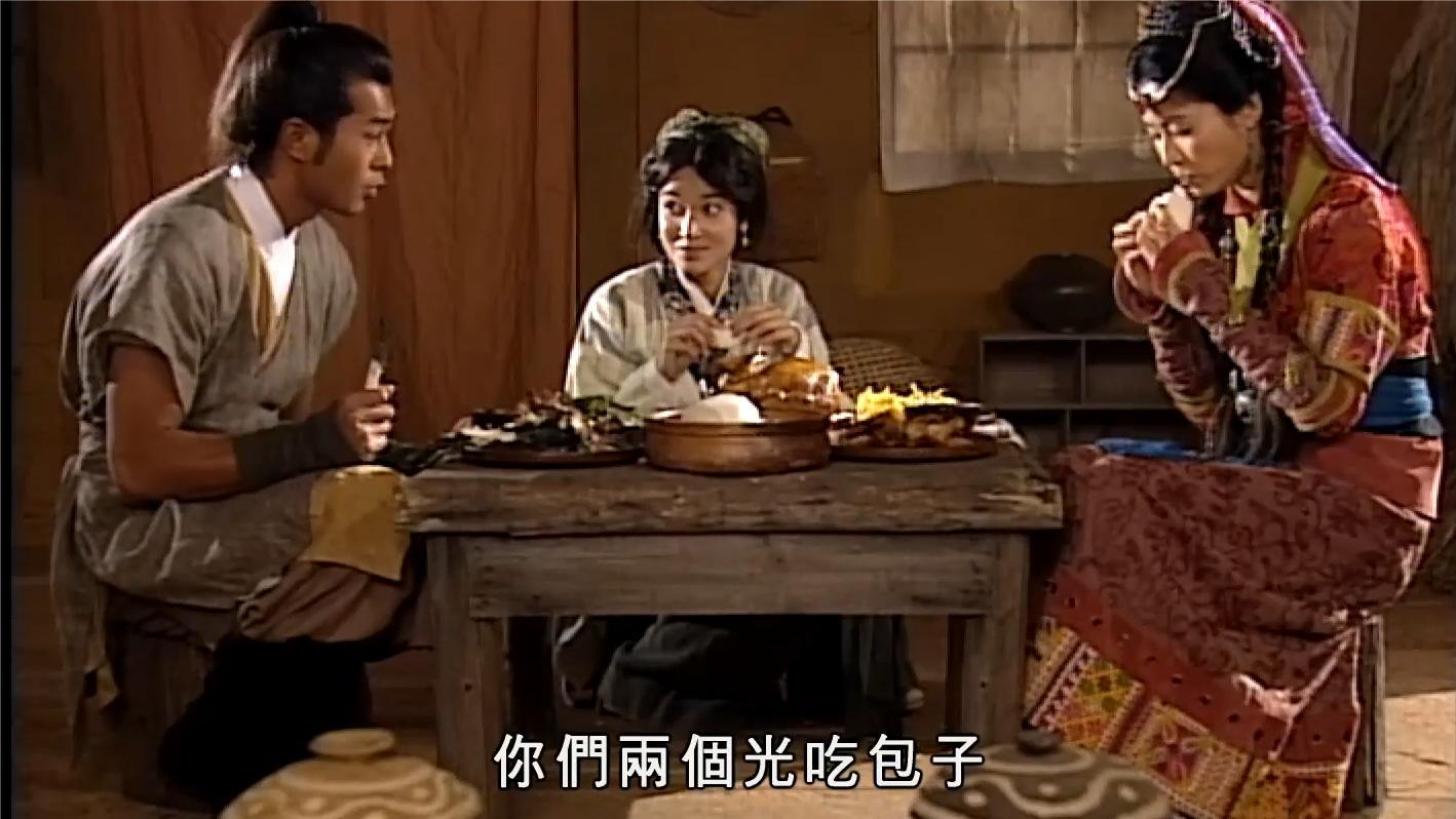 寻秦记: 项少龙做了一桌子现代菜, 谁知公主没见过, 筷子都不敢动