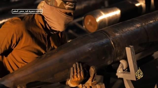 巴勒斯坦人如何制造火箭弹