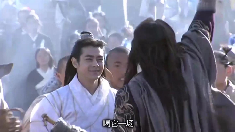 天龙: 虚竹点名丁春秋, 乔峰以为他逞能, 岂料一出手惊艳众人