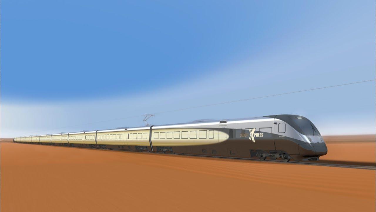 这是全球第一条沙漠高铁,中国耗时十年拿下,比复兴号还快
