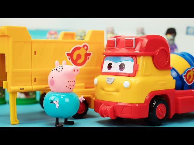 超级飞侠多利三合一多功能工程车玩具