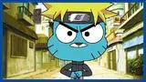 naruto referenced in the amazing world of gumball
