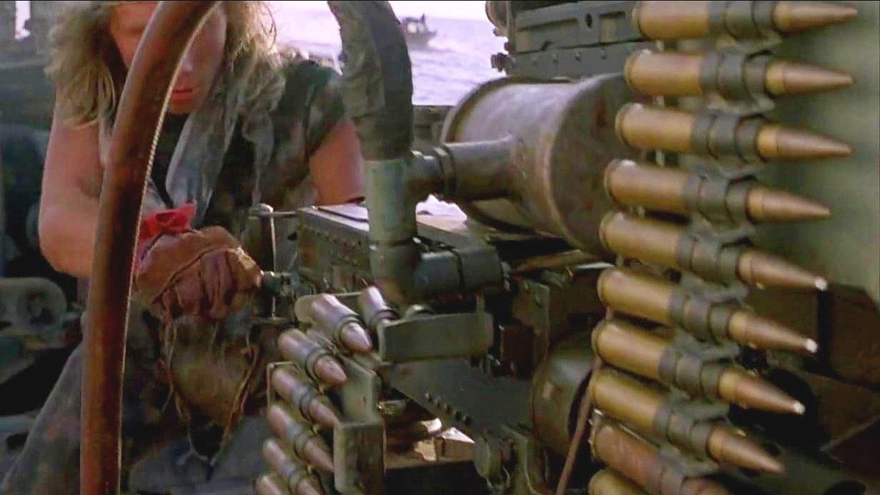 电影: 水上战场 老古董的武器 热血沸腾的激战 让人肾上腺素飙升