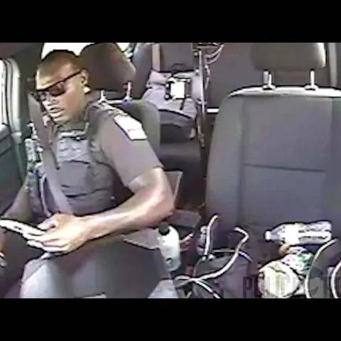 dashcam captures moment suv crashes into tulsa police car