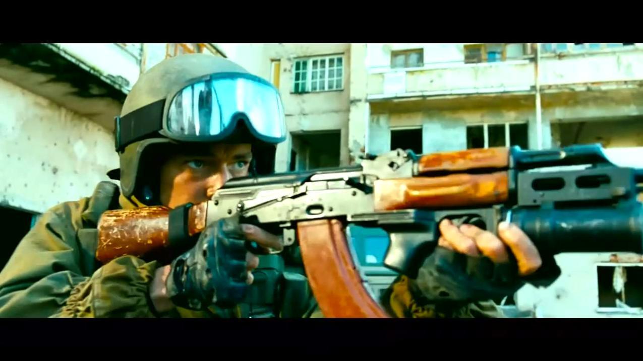 一部俄罗斯最昂贵的战争片, 大兵真枪实弹全程激战, 太惊心动魄了
