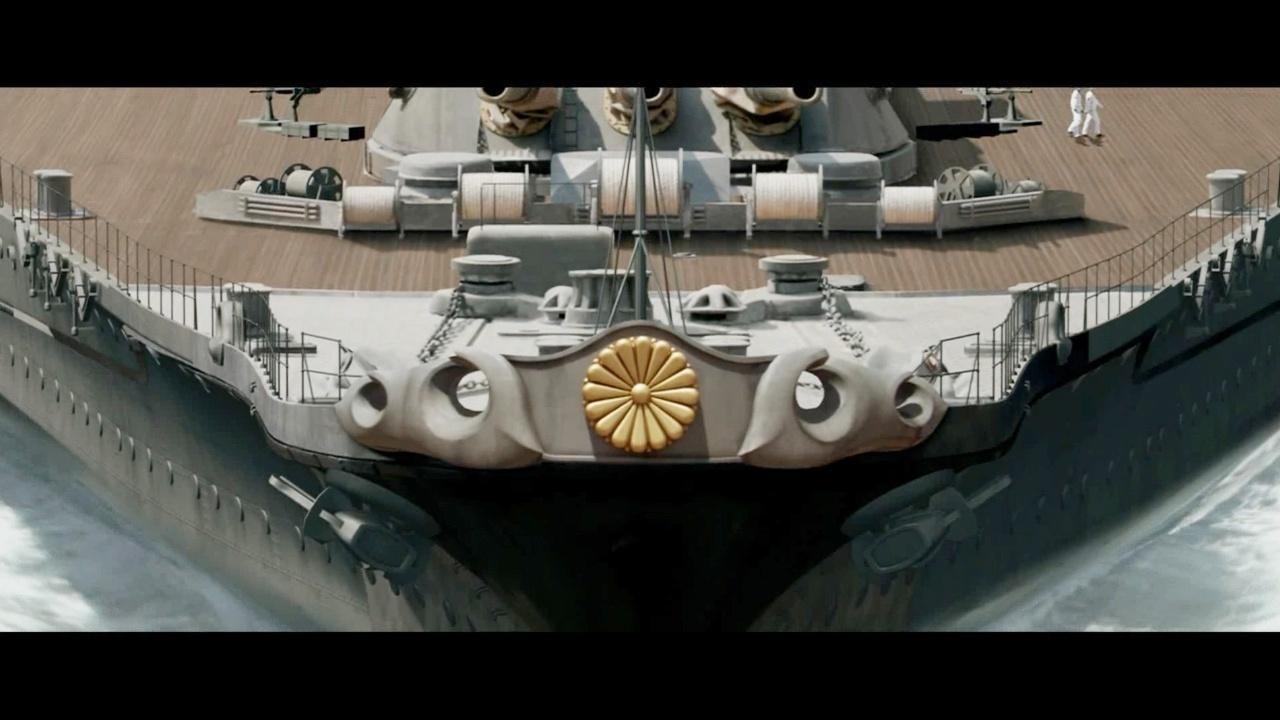 又一部战争猛片, 极度震撼, 美军碾压日本海军!
